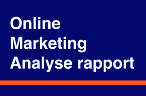 Online marketing analyse