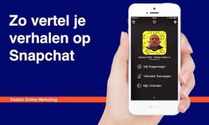 Hoe vertel je een verhaal op Snapchat?