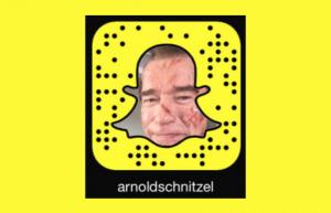 Arnold Schwarzenegger Snapchat