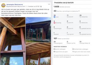 Facebook organisch bereik JG