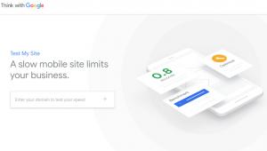 Een goede website voor ondernemers laadt snel