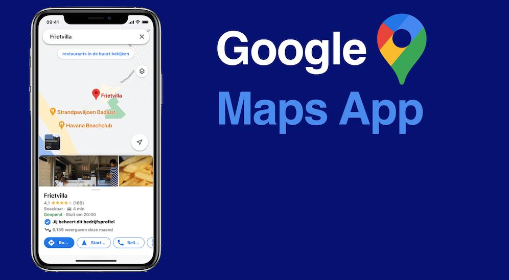 Google Maps beheer