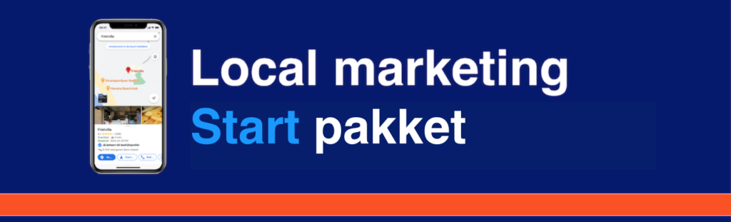 Local marketing start pakket